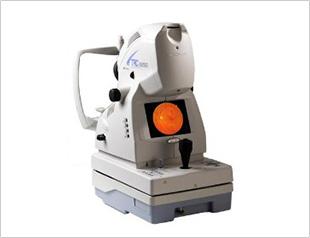 眼底カメラ(Topcon TRC NW200)