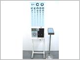 通常の字づまり視力検査表