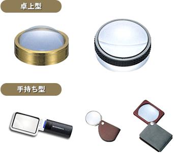 拡大鏡(ルーペ)
